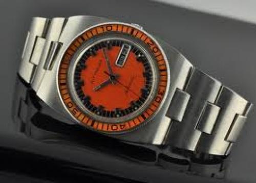 Watches; 1970's WITTNAUER diver's watch is a large and exotic watch