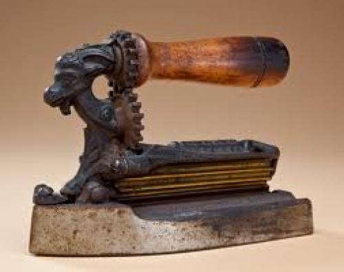 Antique Ethnic; Ironing