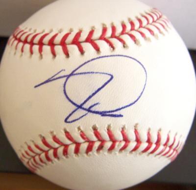 Tim Lincecum autographed MLB baseball