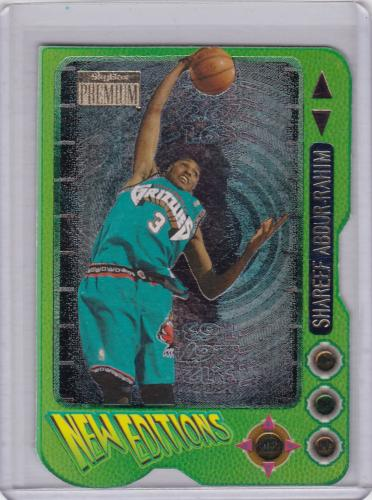 1997 SKYBOX PREMIUM NEW EDITIONS DIE CUT SHAREEF ABDUR RAHIM TOUGH TO FIND