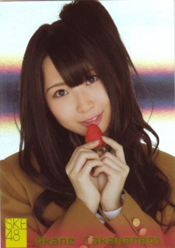 SKE48 JAPANEDE IDOL TRADING CARD AKANE TAKAYANAGI #S15 SP HOLO