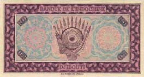 Djibouti Palestine 500 Francs