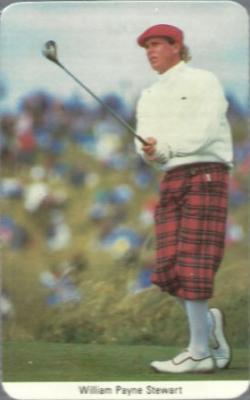 Payne Stewart 1987 Fax-Pax Rookie Card