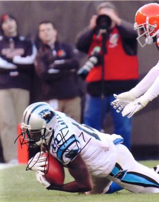 Brandon LaFell autographed Carolina Panthers 8x10 photo