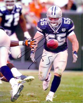 Zach Thomas autographed 8x10 Dallas Cowboys photo