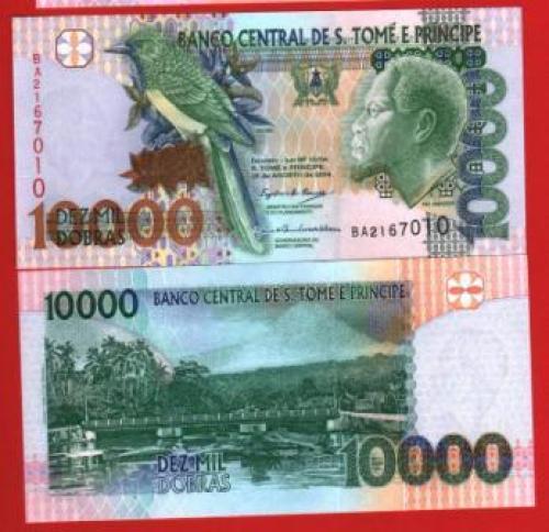 Sao tome et prince 10.000d 2004 UNC