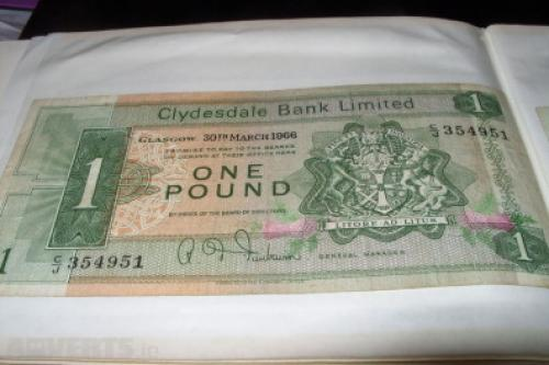 Scotland 1 pounds-1967/9