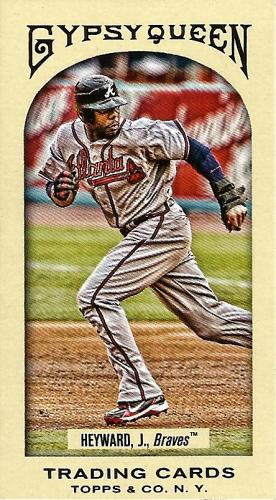 2011 Topps Gypsy Queen Mini #10A ~ Jason Heyward
