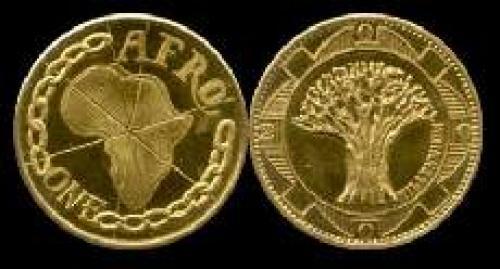 1 afro 1999-2000 (km x#4); Baobab tree