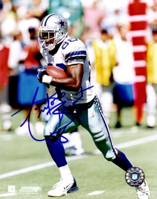 Antonio Bryant autographed 8x10 Dallas Cowboys photo