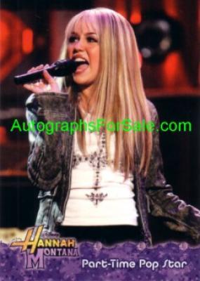 Hannah Montana 2008 Topps promo card P1