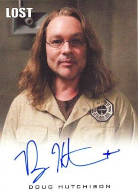 Doug Hutchison LOST certified autograph card