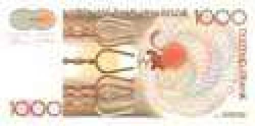 1000 Duizend Franks; Older banknotes