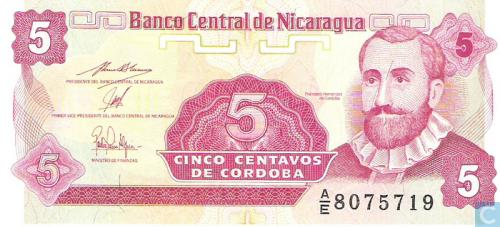 Nicaragua 5 Centavos