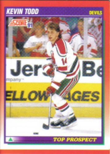 1991-92 Score Bilingual: #287 Kevin Todd