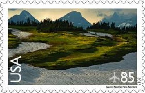 Stamps; NATIONAL PARKS — The U.S. Postal Service is featuring an image of Logan