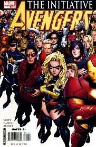 Comics; Avengers: The Initiative (2007-2010) Marvel