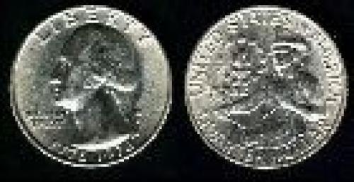 25 cents; Year: 1976; Bicentennial