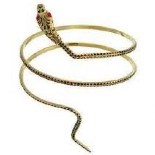 Jewelry; Snake Slave Bracelet