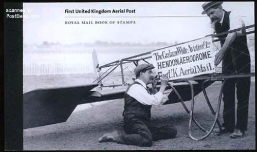 100 Years airmail prestige booklet