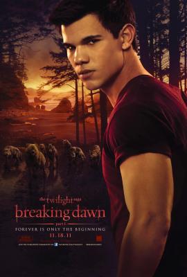 Twilight Breaking Dawn Jacob mini movie poster (Taylor Lautner)