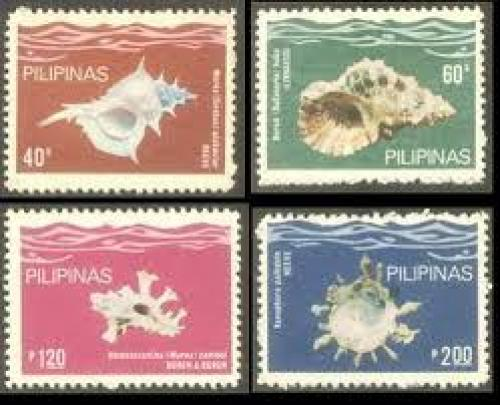 The 1981 Philippine Corals Issue is a se-tenant block of four stamps