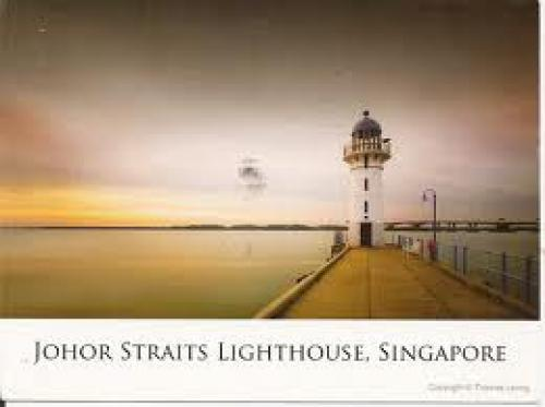 LIGHTHOUSE POSTCARD FROM SINGAPORE