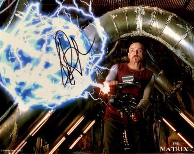 Joe Pantoliano autographed The Matrix 8x10 photo