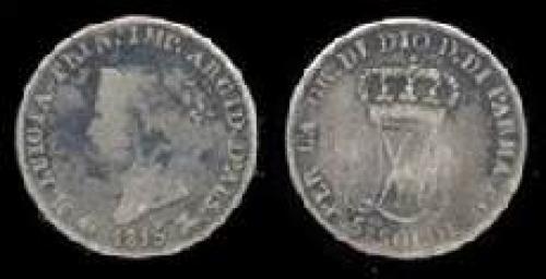 5 soldi 1815-1830 (km c#26)