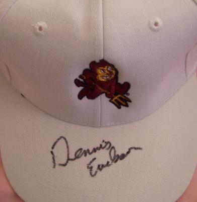 Dennis Erickson autographed Arizona State Sun Devils cap