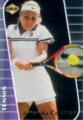 Amanda Coetzer 2000 Collector's Edge card