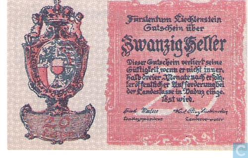 Liechtenstein 20 Heller