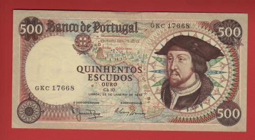 Portugal 500es 1966