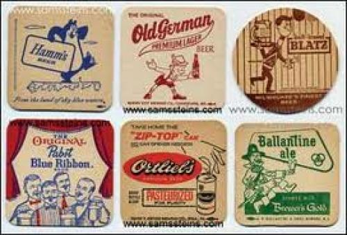 Breweriana; Beer coasters