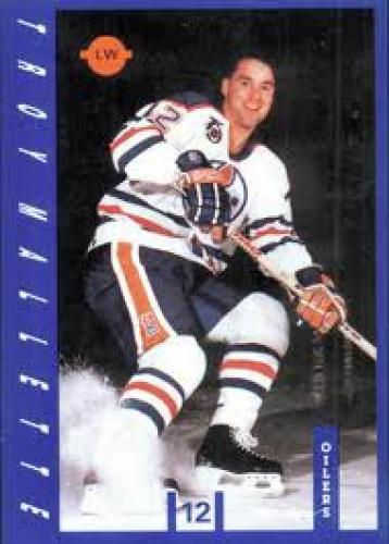Edmonton Oilers 1991-92 hockey card