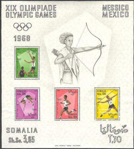 Olympic Games Mexico s/s; Year: 1968