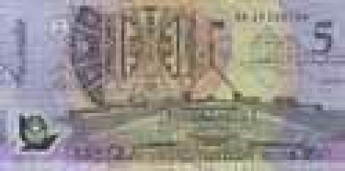 5 Dollars; Current polymer banknotes