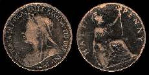 Half Penny 1895-1901 (km 789