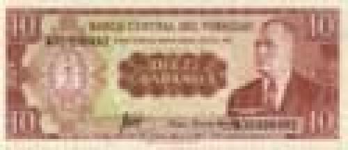 10 Guaranies; Paraguay banknotes