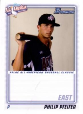 Philip Pfeifer 2010 AFLAC Bowman Rookie Card