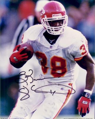 Kimble Anders autographed Kansas City Chiefs 8x10 photo