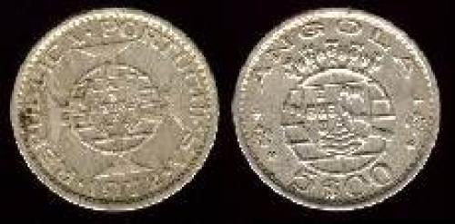 5 escudos 1972-1974 (km 81)