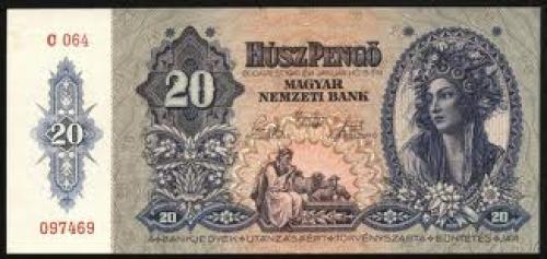HUNGARY Banknotes, 1920-45
