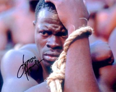 Djimon Hounsou autographed Amistad 8x10 photo