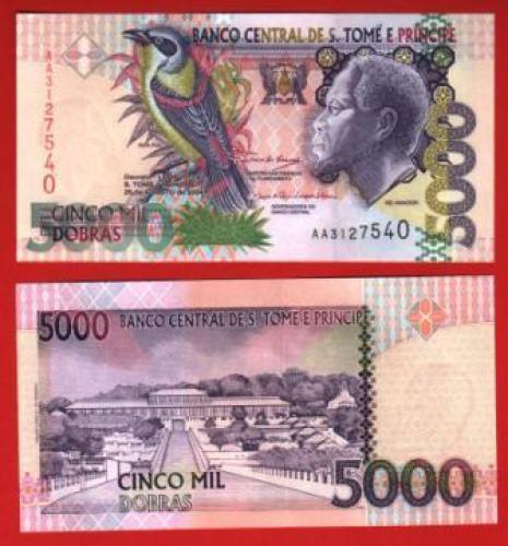 Sao tome et prince 5.000d 2004 UNC