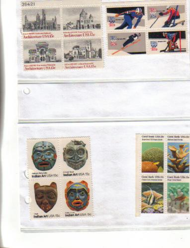 US mint stamps