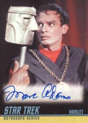 Marc Adams Star Trek certified autograph card