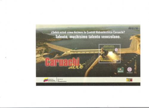 STAMPS 2006 Caruachi HYDROELECTRIC