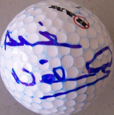 Alison Nicholas (LPGA) autographed golf ball