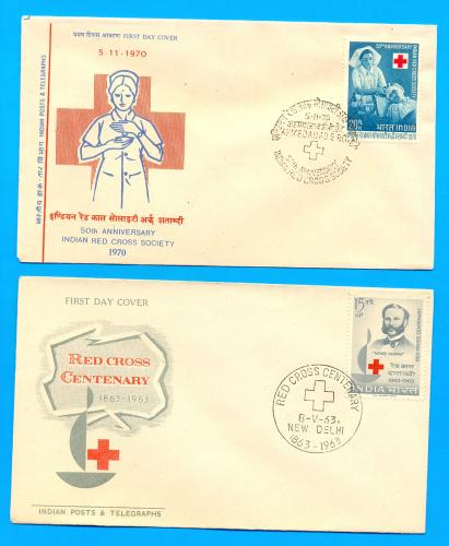 RED CROSS FDC